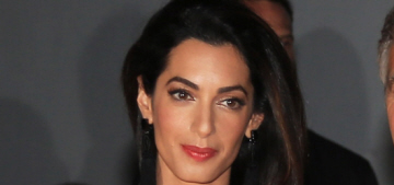 Amal Clooney says words about a client sentenced to 3 years in Egyptian prison