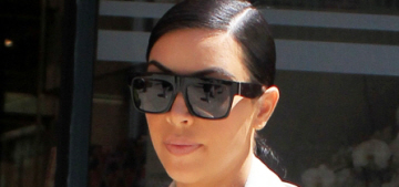 Kim Kardashian's maternity street style: improving or still kind of terrible?