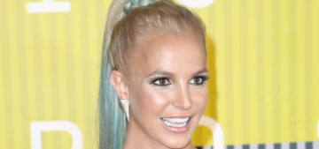 Britney Spears in Labourjoisie at the 2015 VMAs: improved or too bronzed?