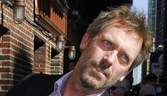 Hugh Laurie regrets talking about his depression