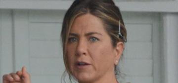 Jennifer Aniston filmed scenes with Timothy Olyphant in Atlanta: lucky?