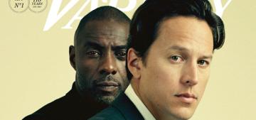Idris Elba & director Cary Fukunaga cover Variety: who would you rather?