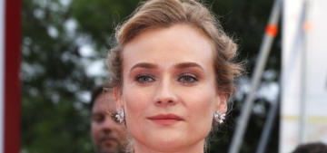 Diane Kruger in caped Prada at the Venice Film Festival: stunning or blah?