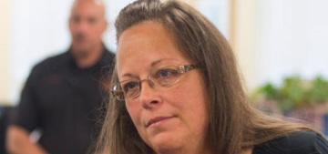 Kim Davis, the anti-gay marriage county clerk in KY, got sent to jail: bye Felicia?