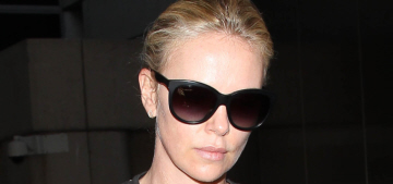 Star: Charlize Theron got stood up for a lunch date at an LA sushi joint