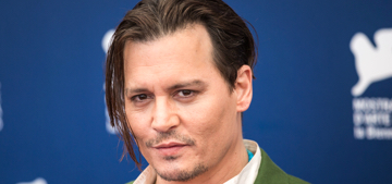 Johnny Depp goes sans scarves for 'Black Mass' in Venice: what does it mean?