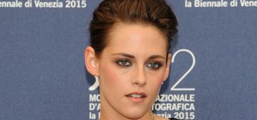 Kristen Stewart in Chanel at the Venice Film Festival: lovely or boring?