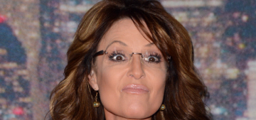 Sarah Palin thinks everyone in the USA should 'speak American' of course