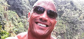 The Rock rescued his French bulldogs from drowning like a true superhero