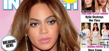 In Touch: Beyonce isn't doing interviews because she's divorcing Jay-Z?