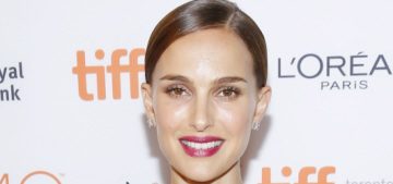 Natalie Portman wears Lanvin, Dior at TIFF, discusses Manic Pixie Dream Girls