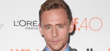 Tom Hiddleston looked lovely at the TIFF 'High Rise' premiere: would you hit it?