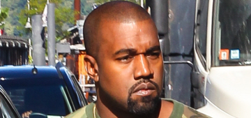 Kanye West basically stage-rushed NYFW & other designers are pissed off