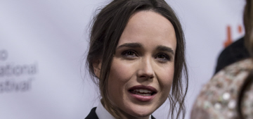 Ellen Page declares that she 'loves' girlfriend Samantha Thomas at TIFF