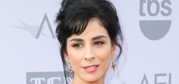 Sarah Silverman thinks complaining about PC humor is 'a sign of being old'