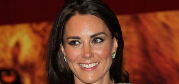 Duchess Kate & Prince William add splashy 'Spectre' premiere to their calendar