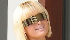 Paris Hilton dresses like your friendly neighborhood sex robot