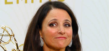 Julia Louis-Dreyfus won an Emmy for Veep for the fourth year in a row