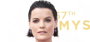 Jaimie Alexander in colorful Armani Prive at the Emmys: gorgeous or garish?