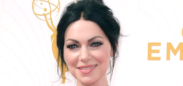 Laura Prepon in Christian Siriano at the Emmys: overdone or just right?