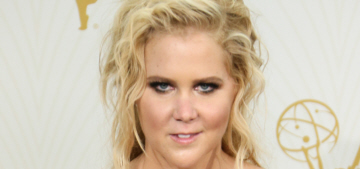 Amy Schumer in Zac Posen at the Emmys: too messy or pretty boss?