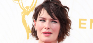 Lena Headey in Zuhair Murad at the Emmys: one of the best looks?