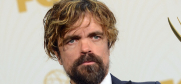 Peter Dinklage rocked a man-bun at the Emmys: would you hit it?