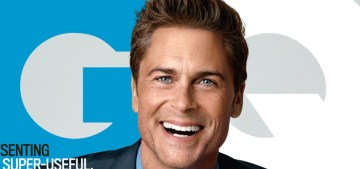 Rob Lowe talks 'The West Wing' & 'Brothers & Sisters,' sounds like a d-bag