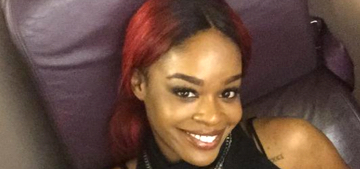 Azealia Banks spit, punched a man in the face & hurled obscenities on a plane