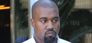 Kanye West: 'Sweatshirts are f-king important, mark my words like Mark Twain'