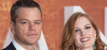Who looked the best at 'The Martian' UK premiere: Damon, Ejifior or Chastain?