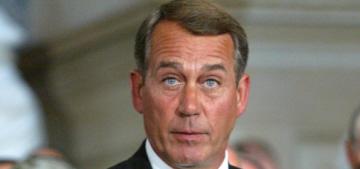 The tears of an orange: John Boehner suddenly announces resignation