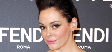 Rose McGowan 'literally feels pity for all the stupid idiots' & Hollywood 'bullsh*t'