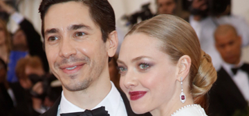 Amanda Seyfried & Justin Long break up after two years of dating