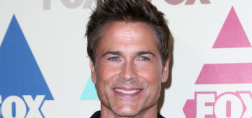 Rob Lowe on TV shows today: 'But what about the objectification of men?'