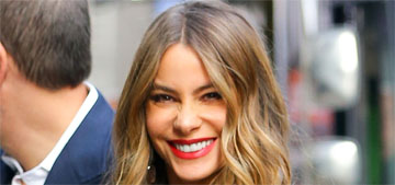 Sofia Vergara: once women 'hit 40, they shouldn't put their hair up until 60′