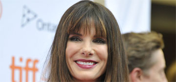 Sandra Bullock's boyfriend has moved in, she possiby adopted a baby girl