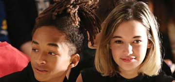 Jaden Smith's new girlfriend wore her mug shot as a t-shirt: sketchy or cool?