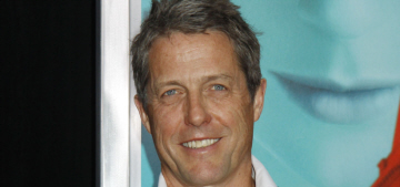 Hugh Grant's second baby mama is pregnant with Hugh's 4th child in 4 years