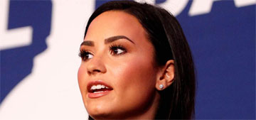 Demi Lovato: 'People with mental illness are actually more likely to harm themselves'