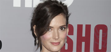Winona Ryder on aging: 'How do you win? If I don't look ageless, I look haggard'