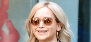 Jennifer Lawrence is 'over' trying to be 'adorable & likable' with inequality
