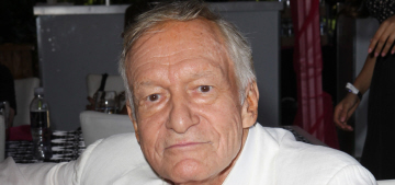 Hugh Hefner agreed to do away with nude photos in Playboy: good idea?