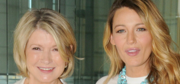 Martha Stewart on Blake Lively: 'Maybe you can't do everything at the same time'