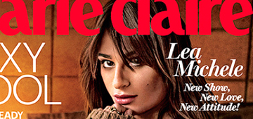 Lea Michele loves her own tush & describes it as 'a showstopper'