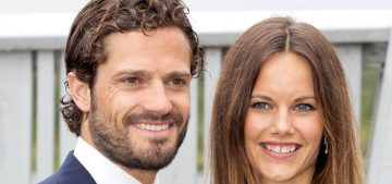 Princess Sofia of Sweden announces her first pregnancy, she's due in April