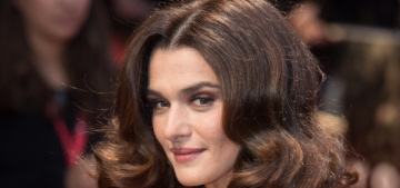 Rachel Weisz on quality roles for women: 'I think we all have to get on with it'