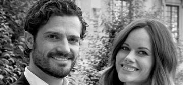 Prince Carl Philip & Princess Sofia release two new portraits: lovely?