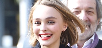 Lily Rose Depp on fame: 'I grew up with the media circus. I didn't choose it'