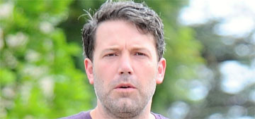 Ben Affleck regrows scruff, gets back in shape: hot or better with a beard?